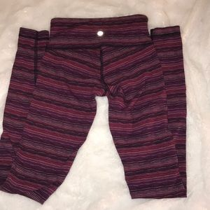 Lululemon space dye twist wunder under size 2